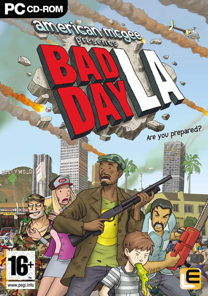 American McGee Bad Day L.A. (2006) Русская версия [Repack], скриншоты American McGee Bad Day L.A. (2006) Русская версия [Repack], картинки American McGee Bad Day L.A. (2006) Русская версия [Repack], постер American McGee Bad Day L.A. (2006) Русская версия [Repack]