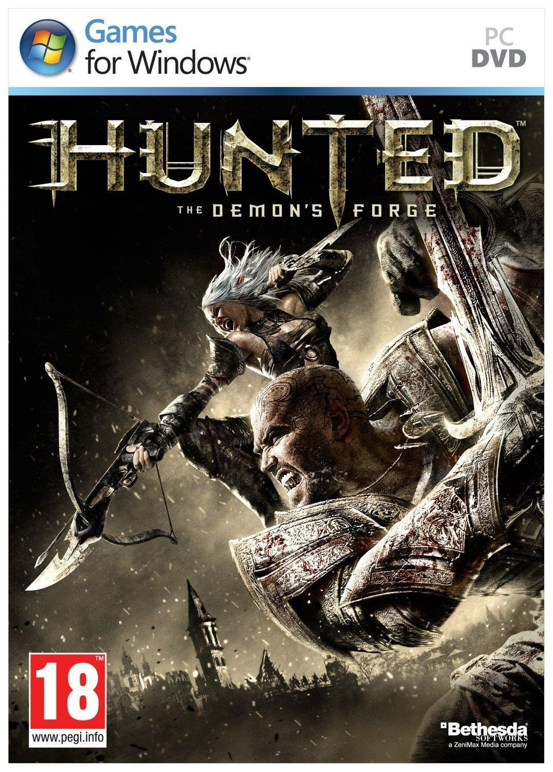 Hunted: Кузня демонов / Hunted: The Demon's Forge (2011) Русская версия [RePack]