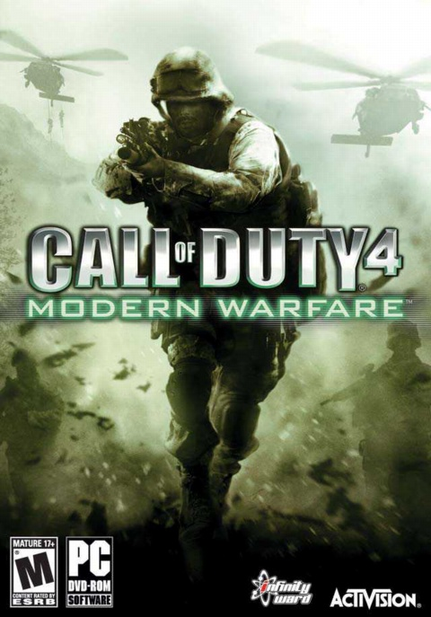 Call of Duty 4: Modern Warfare (2007) Русская версия [RePack], скриншоты Call of Duty 4: Modern Warfare (2007) Русская версия [RePack], картинки Call of Duty 4: Modern Warfare (2007) Русская версия [RePack], постер Call of Duty 4: Modern Warfare (2007) Русская версия [RePack]
