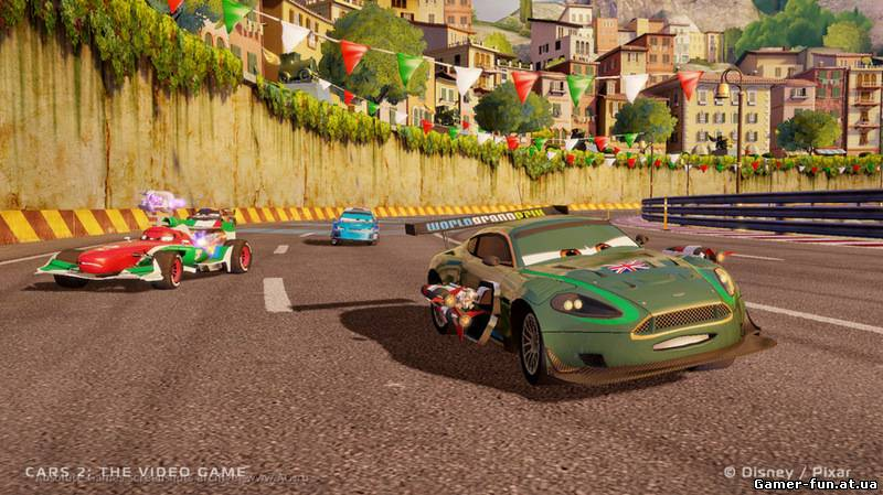 Disney: Тачки 2 / Cars 2: The Video Game (2011) Русская версия [RePack], скриншоты Disney: Тачки 2 / Cars 2: The Video Game (2011) Русская версия [RePack], скачать Disney: Тачки 2 / Cars 2: The Video Game (2011) Русская версия [RePack], картинки Disney: Тачки 2 / Cars 2: The Video Game (2011) Русская версия [RePack], постер Disney: Тачки 2 / Cars 2: The Video Game (2011) Русская версия [RePack]