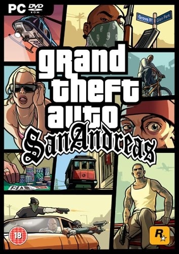 Grand Theft Auto - San Andreas (2005) Русская версия [RePack], скриншоты Grand Theft Auto - San Andreas (2005) Русская версия [RePack], картинки Grand Theft Auto - San Andreas (2005) Русская версия [RePack], постер Grand Theft Auto - San Andreas (2005) Русская версия [RePack]