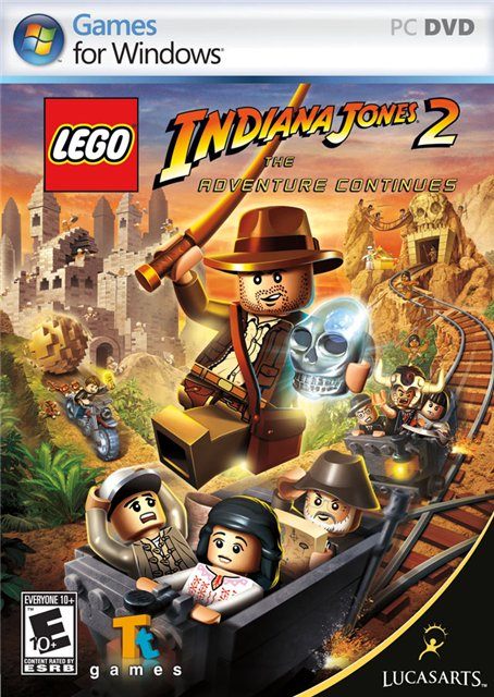 Lego Indiana Jones 2: The Adventure Continues (2009) Русская версия [P]