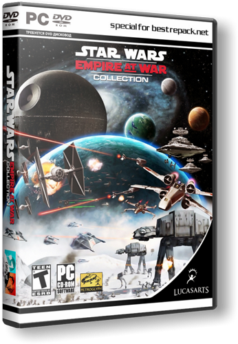 Star Wars Empire At War Collection (2006) Русская версия [RePack]