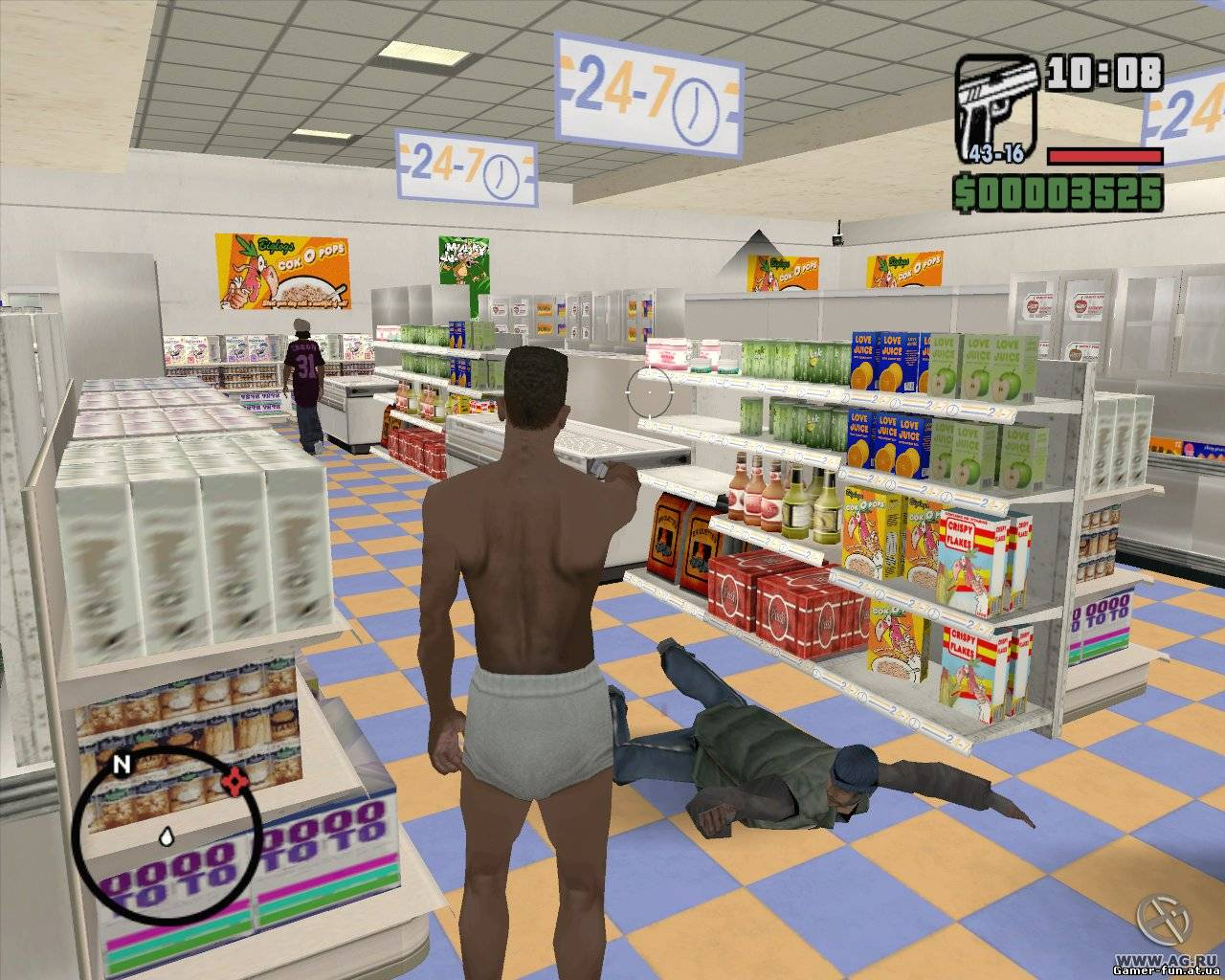Grand Theft Auto - San Andreas (2005) Русская версия [RePack], скриншоты Grand Theft Auto - San Andreas (2005) Русская версия [RePack], скачать Grand Theft Auto - San Andreas (2005) Русская версия [RePack], картинки Grand Theft Auto - San Andreas (2005) Русская версия [RePack], постер Grand Theft Auto - San Andreas (2005) Русская версия [RePack]