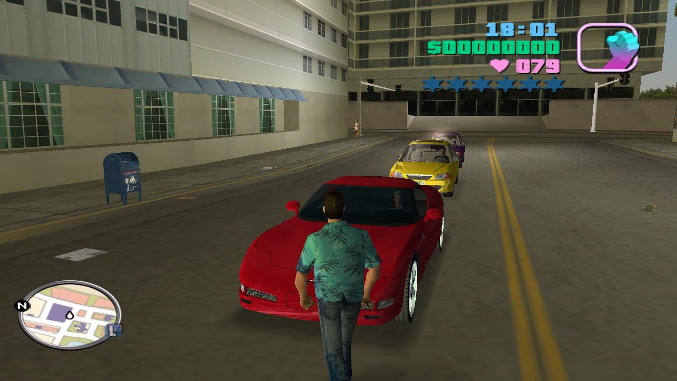 скачать через торрент gta vice city русские машины
