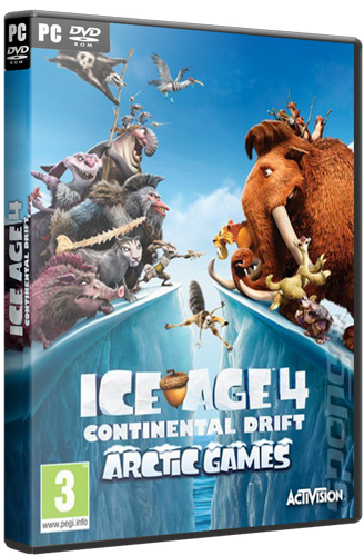 Ice Age: Continental Drift (2012) Русская версия [RePack], скриншоты Ice Age: Continental Drift (2012) Русская версия [RePack], картинки Ice Age: Continental Drift (2012) Русская версия [RePack], постер Ice Age: Continental Drift (2012) Русская версия [RePack]