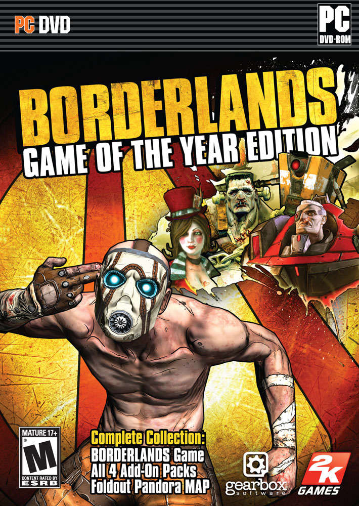 Borderlands: Game of the Year Edition (2010) Русская версия [RePack]